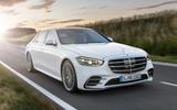 Mercedes-Benz S-Class - front