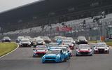 100 01 Yvan Muller leads Race 1
