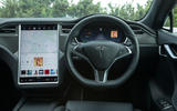 Tesla Model S 100D dashboard