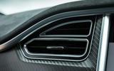 Tesla Model S 100D air vents