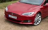 Tesla Model S 100D front end