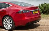 Tesla Model S 100D rear end