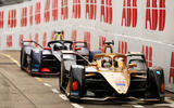 Formula E André Lotterer and Sam Bird in Hong Kong