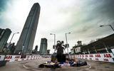 Formula E André Lotterer and Sam Bird in Hong Kong