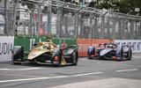 Formula EAndré Lotterer and Sam Bird in Hong Kong