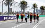 Melbourne GP grid walk