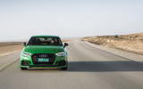 Audi RS3 Saloon front end