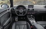 Audi RS3 Saloon dashboard