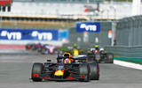 Max Verstappen driving alternative shot