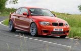 BMW 1 Series M Coupé - tracking side