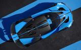 Bugatti Bolide from above new angle