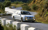 Ford Sierra Cosworth - tracking front