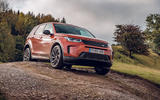 Land Rover Discovery Sport 2019 UK first drive review - off-road front