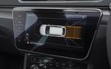 Skoda Superb Estate Sportline 2020 UK first drive review - parking indicator