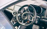 11 Alpine A110 Legende GT 2021 UK first drive review dashboard