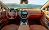Aston Martin DBX 2020 UK first drive review - dashboard