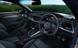 Audi A3 Sportback 2020 UK first drive review - dashboard