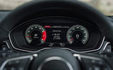 Audi A5 Coupe 2020 UK first drive review - instruments