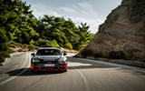 Audi RS E-tron GT 2021 prototype drive - cornering front