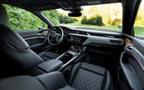 Audi E-tron S Sportback 2020 first drive review - cabin