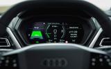 11 Audi Q4 etron 2021 UK FD instruments