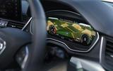 Audi Q5 40 TDI Sport 2020 UK first drive review - instruments