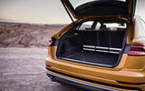 Audi Q8 2018 first drive review boot space
