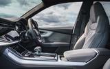 Audi Q8 50 TDI Quattro S-Line 2018 UK first drive cabin