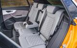 11 Audi Q8 TFSI e 2021 uk FD rear seats