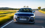 Audi S6 2019 first drive review - on the road nose
