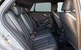 Audi SQ2 2019 UK first drive review - rear seats