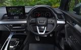 11 Audi SQ5 TDI 2021 UK FD dashboard