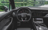 Audi SQ7 2020 first drive review - steering wheel