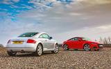 Audi TT Mk1 - static rear