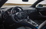 Audi TTS 2018 first drive review steering wheel