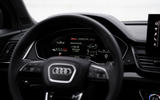 11 Audi SQ5 2021 first drive review instruments