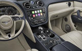 Bentley Bentayga hybrid 2019 first drive review - centre console