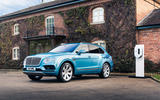 Bentley Bentayga Hybrid 2020 UK first drive review - static front