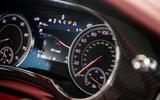 Bentley Bentayga Speed 2019 UK first drive review - instruments
