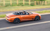 Bentley Continental GT Convertible V8 2020 UK first drive review - on the road side