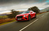 Bentley Continental GT V8 2020 UK first drive review - on the road front