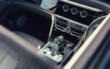 11 Bentley Fyling Spur V8 2021 UK review centre console