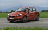 BMW 2 Series Active Tourer 2018 review static front