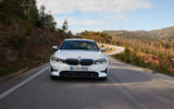 BMW 3 Series 320d Sport Line 2019 first drive review - on the road nose