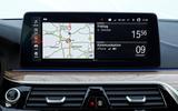 BMW 5 Series 2020 UK (LHD) first drive review - infotainment