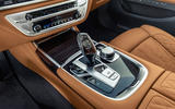 BMW 7 Series 750Li 2019 first drive review - centre console