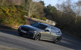 BMW 3 Series Touring M340i 2020 UK first drive review - cornering front