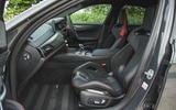 11 BMW M5 CS 2021 UK FD front seats