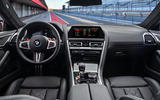 BMW M8 Competition Coupé 2019 first drive review - dashboard