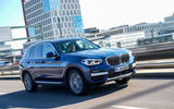 BMW X3 xDrive30e 2020 first drive review - on the road front